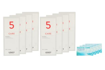 Ultra 4 x 6 Monatslinsen + Lensy Care 5 Jahres-Sparpaket