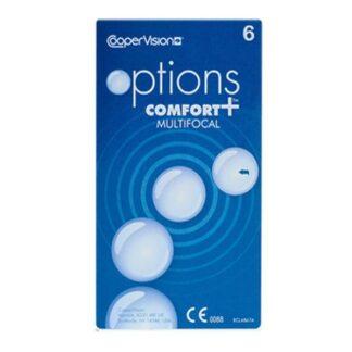 options Comfort+ Multifocal 6 Monatslinsen